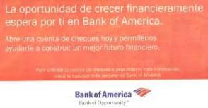 Bank of America Spanish customer care number 2819