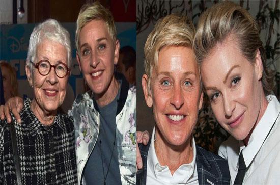 Ellen DeGeneres comedian contact address 4071