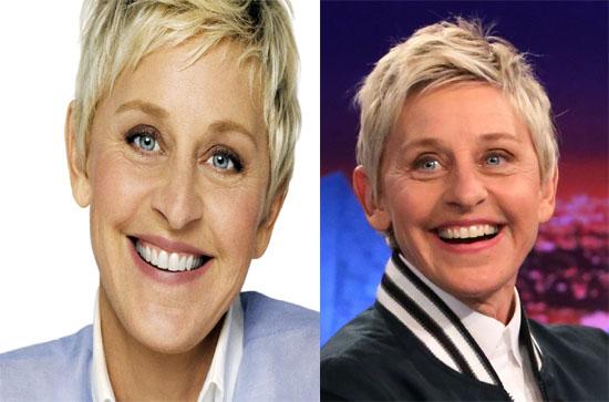 Ellen DeGeneres comedian contact address 8626