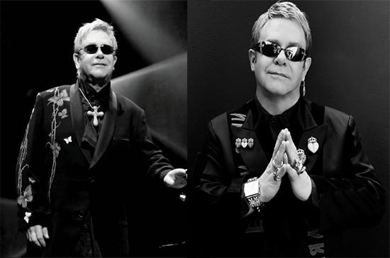 Elton John contact address 739