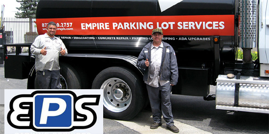 Empire Parking Services contact address 8413