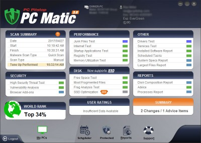 PC Matic customer care number 4612