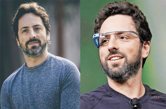 Sergey Brin contact address 7373