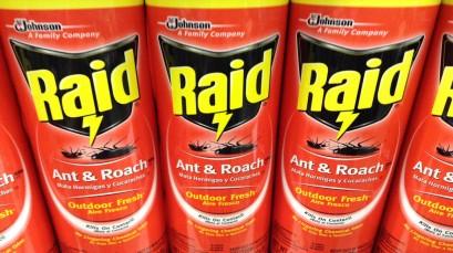 raid pesticide contact address 2722
